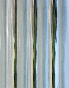 "Architectural Glass GL-495 4MM 1/2"" REEDED SANDBLASTED 36x48 full stock sheet"