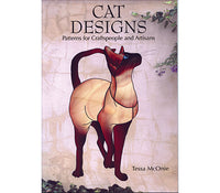 Stained Glass Books/Patterns/Dvd/Vhs Cat Designs By Tessa Mconie Books-Stained Glass