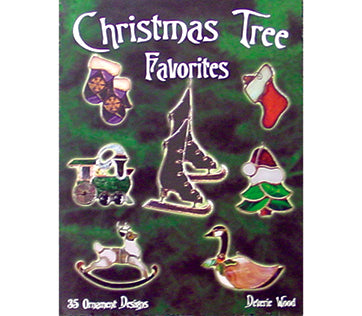 Stained Glass Books/Patterns/Dvd/Vhs Christmas Tree Favorites