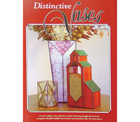 Stained Glass Books/Patterns/Dvd/Vhs Distinctive Vases