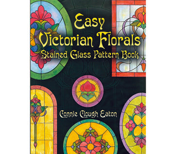 Stained Glass Books/Patterns/Dvd/Vhs Easy Victorian Florals
