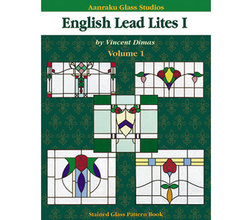 Stained Glass Books/Patterns/Dvd/Vhs English Lead Lites 1