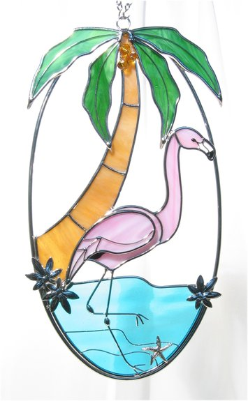 Studio One Giftware 1041 Flamingo Oval 6 X 11