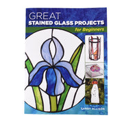 Stained Glass Books/Patterns/Dvd/Vhs Great Stained Glass For Beginners