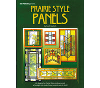 Stained Glass Books/Patterns/Dvd/Vhs Prairie Style Panels