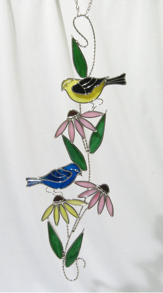Studio One Giftware 1047 Wild Birds Scroll 6 X 16