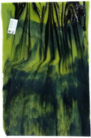Youghiogheny Glass Y96-4573 18x24 Green Extreme half stock sheet