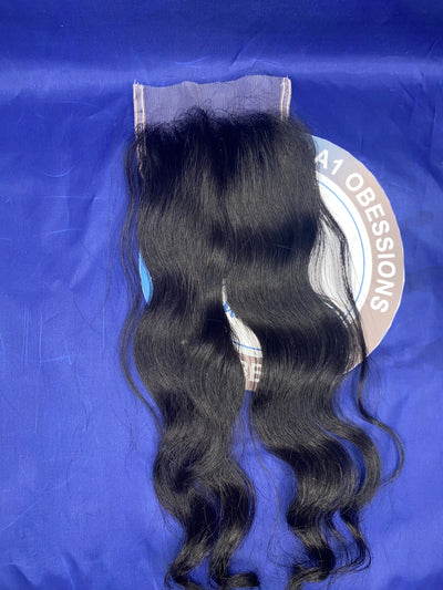 Raw Filipino Natural Wave 5X5 Lace Closure