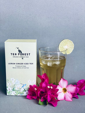 Lemon Ginger Iced Tea