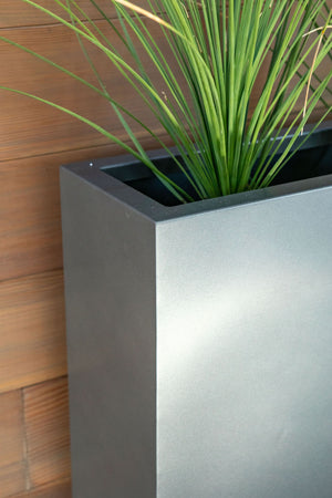 Metallic Series Span Planter