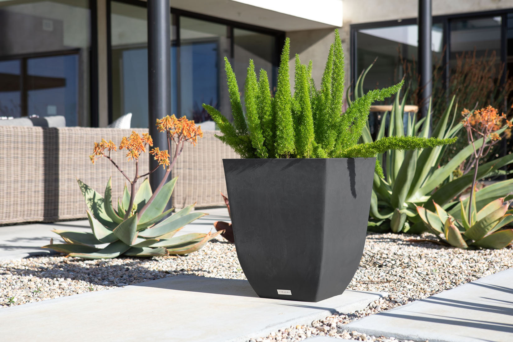 Sierra Square Planter