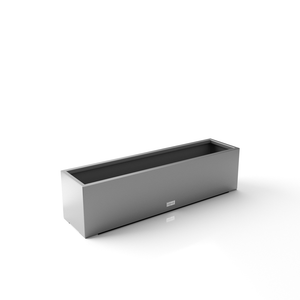 Metallic Series Window Box Planter