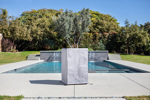 Outdoor Kitchen Series Counter Square - Stainless Steel