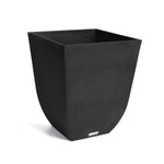 Veradek Sierra Plastic Planter, Modern Planter, Light weight planter, weather-resistant, square planter, outdoor and indoor