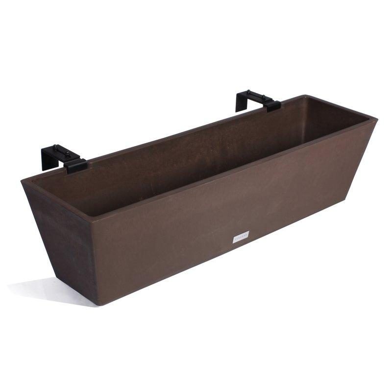 Veradek Window box Plastic Planter, Modern Planter, Light weight planter
