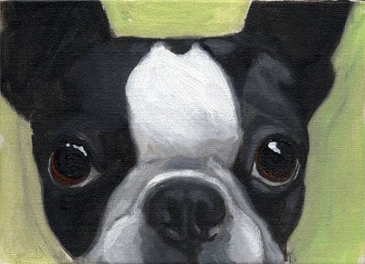 Boston terrier gift, boston terrier art, dog art gift, dog lover art print, boston terrier lover wall decor