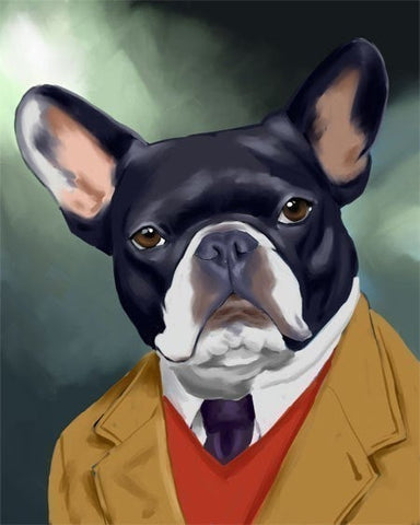 French bulldog gift /French Bulldog art print / Frenchie painting
