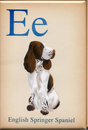 English Springer Spaniel gift, Dogs A-Z, English Springer Spaniel art, fridge magnet