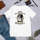 Boston Terrier Old Stink Eye Short-Sleeve Unisex T-Shirt
