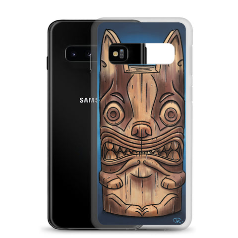Boston terrier B-Tiki Samsung Case