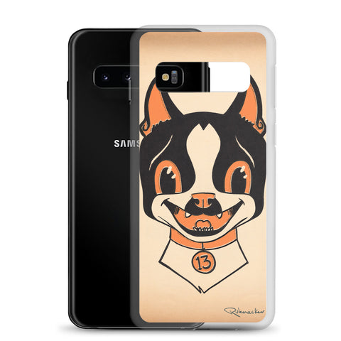 Boston terrier Halloween Samsung Case