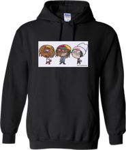Load image into Gallery viewer, CLHOODIE-BLACK-FRONT-1861