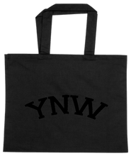 Load image into Gallery viewer, TOTE-BLACK-BACK-2184