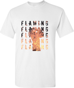Flaming  /// Front only /// Classic T-shirt