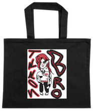 Load image into Gallery viewer, TOTE-BLACK-FRONT-2569