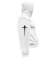 Load image into Gallery viewer, CLHOODIE-WHITE-RIGHTSLEEVE-2656