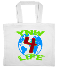 Load image into Gallery viewer, TOTE-WHITE-FRONT-1390