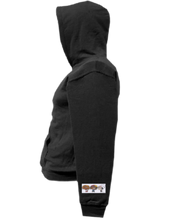 Load image into Gallery viewer, COHOODIE-BLACK-LEFTSLEEVE-1863