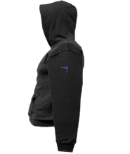 Load image into Gallery viewer, CLHOODIE-BLACK-LEFTSLEEVE-917