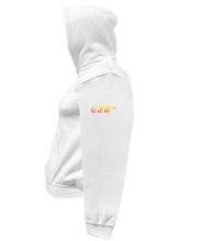 Load image into Gallery viewer, CLHOODIE-WHITE-LEFTSLEEVE-1578