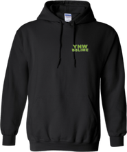 Load image into Gallery viewer, CLHOODIE-BLACK-FRONT-1062