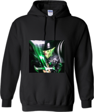 Load image into Gallery viewer, CLHOODIE-BLACK-FRONT-2517