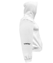 Load image into Gallery viewer, COHOODIE-WHITE-RIGHTSLEEVE-2449