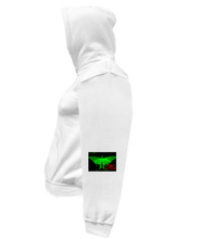 Load image into Gallery viewer, CLHOODIE-WHITE-LEFTSLEEVE-1197