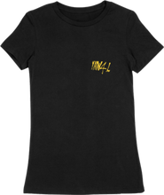 Load image into Gallery viewer, WOMTEE-BLACK-FRONT-1048