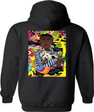 Load image into Gallery viewer, CLHOODIE-BLACK-BACK-1062