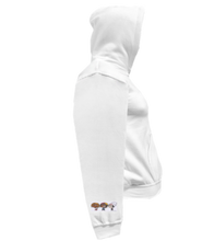 Load image into Gallery viewer, CLHOODIE-WHITE-RIGHTSLEEVE-1861
