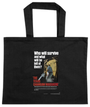 Load image into Gallery viewer, TOTE-BLACK-FRONT-2228