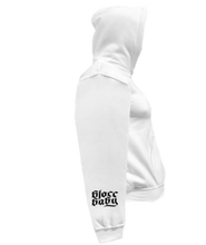 Load image into Gallery viewer, CLHOODIE-WHITE-RIGHTSLEEVE-1537