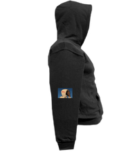 Load image into Gallery viewer, COHOODIE-BLACK-RIGHTSLEEVE-1561