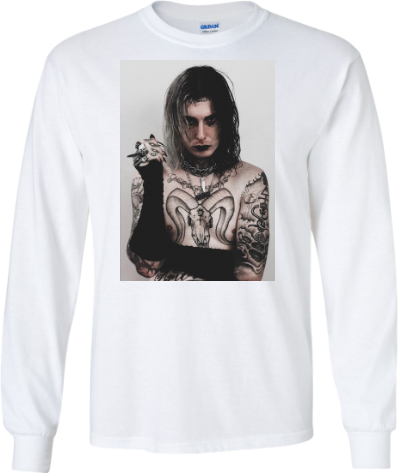 Ghosteface Long Sleeve
