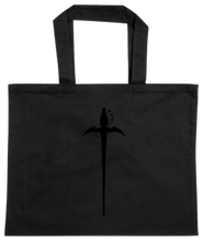 Load image into Gallery viewer, TOTE-BLACK-FRONT-2766