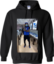Load image into Gallery viewer, CLHOODIE-BLACK-FRONT-2358