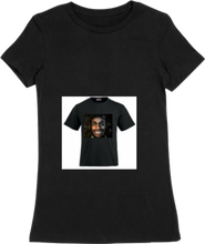 Load image into Gallery viewer, WOMTEE-BLACK-FRONT-1588
