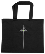 Load image into Gallery viewer, TOTE-BLACK-BACK-2682