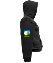 Load image into Gallery viewer, COHOODIE-BLACK-RIGHTSLEEVE-990